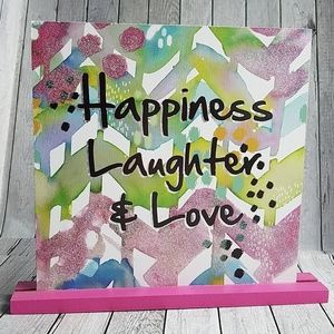ROOM DECOR ,HAPPINESS LAUGHTER &LOVE